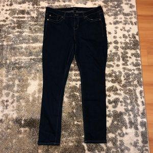 KUT from the Kloth Diana Skinny Jeans Dark Blue 8